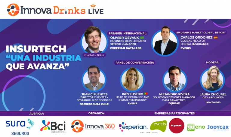 "Innovadrinks ""Insurtech, an industry that advances"""